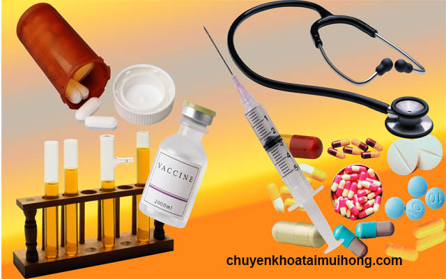 Sử dụng thuốc Tây chữa bệnh viêm amidan