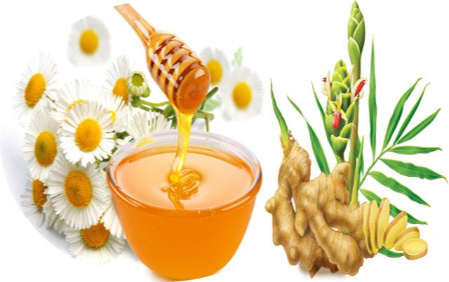 Chữa bệnh viêm họng hạt bằng mật ong và gừng