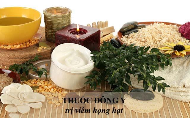 Sử dụng thuốc Đông y chữa bệnh viêm họng hạt