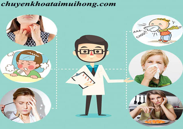 Một số triệu chứng điển hình của bệnh viêm họng