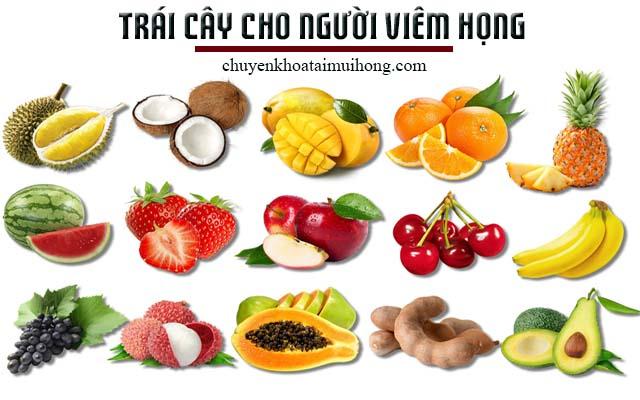 Bổ sung trái cây giúp cải thiện bệnh đau họng, viêm họng