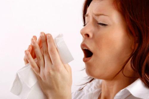 Bệnh viêm mũi dị ứng gây hắt hơi, sổ mũi