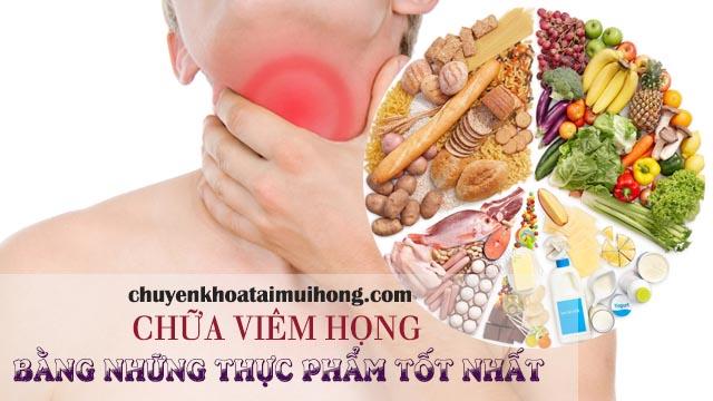 Những thực phẩm chữa viêm họng nhanh nhất