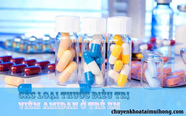 Thuốc chữa viêm amidan ở trẻ em