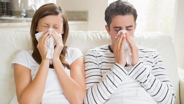 Viêm mũi dị ứng gây ra tình trạng hắt hơi liên tục