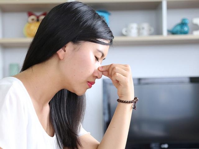 Bệnh viêm xoang gây đau nhức ở vùng mũi