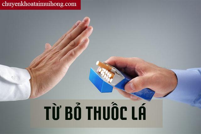 Không hút thuốc lá tránh mắc bệnh viêm amidan