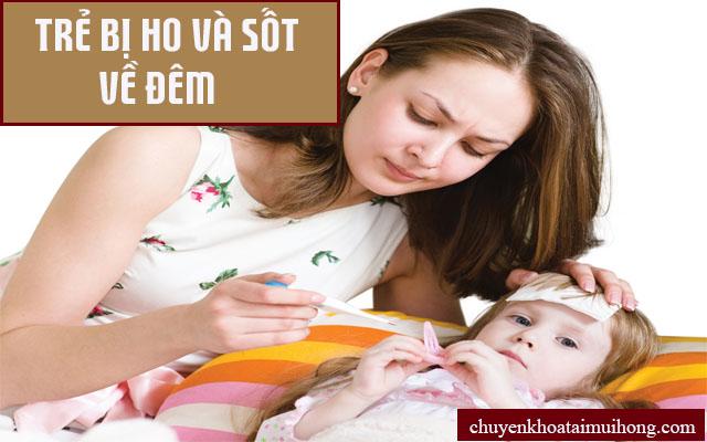Làm gì khi trẻ bị ho và sốt thường xuyên?