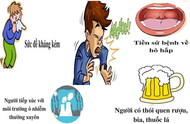 Các nguyên nhân chính gây ra bệnh viêm họng