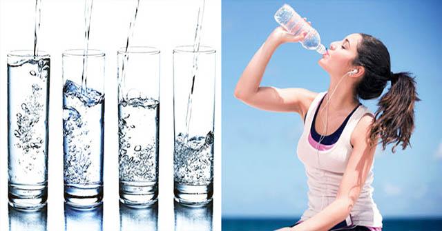 Uống nước chữa bệnh viêm họng