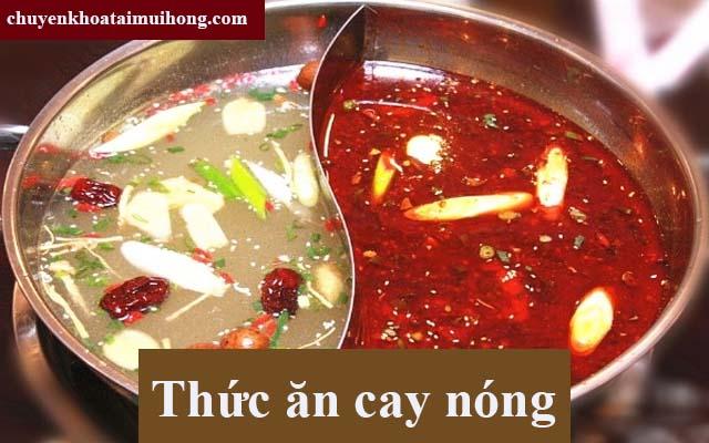 Người bệnh viêm họng không ăn thực phẩm cay, nóng