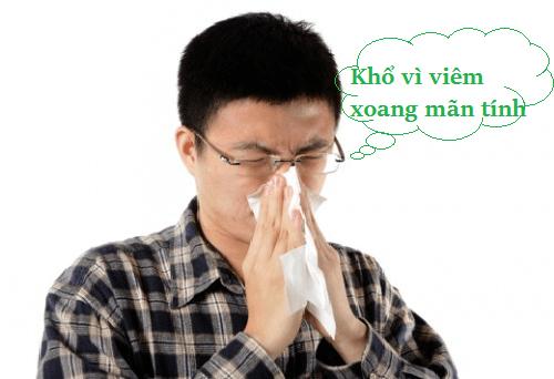 Bệnh viêm xoang mũi mãn tính