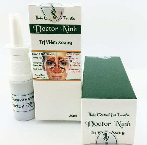 Thuốc trị viêm xoang Doctor Ninh có tốt không ?