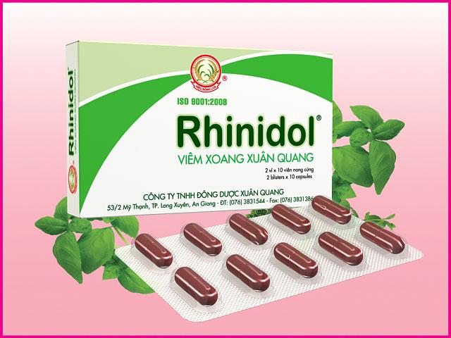 Thuốc chữa viêm xoang Rhinidol có hiệu quả không