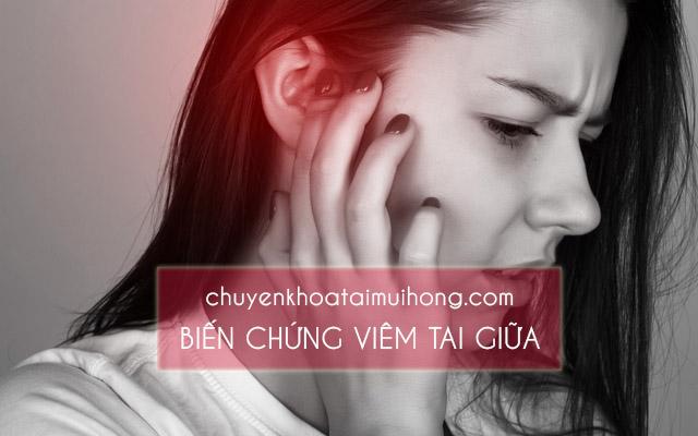 Viêm họng đau tai gây biến chứng viêm tai giữa
