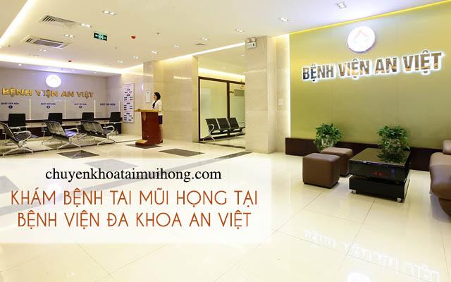 Khám bệnh tai mũi họng tại bệnh viện Đa khoa An Việt