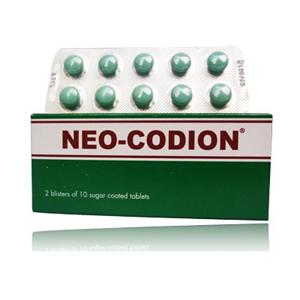 Tác dụng trị ho của thuốc Neo Codion
