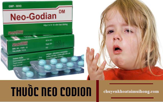 Thuốc Neo Codion giúp giảm nhanh cơn ho
