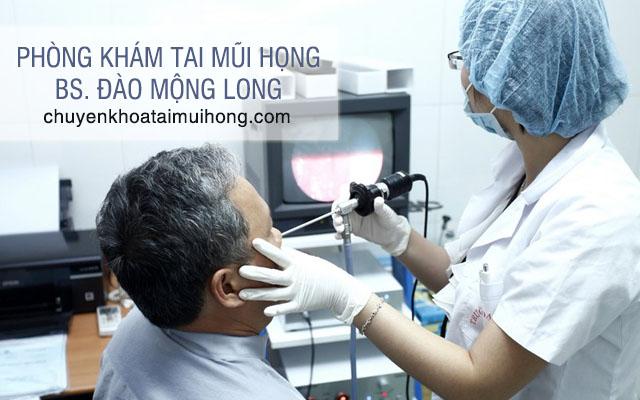 Phòng khám Tai mũi họng - BS. Đào Mộng Long
