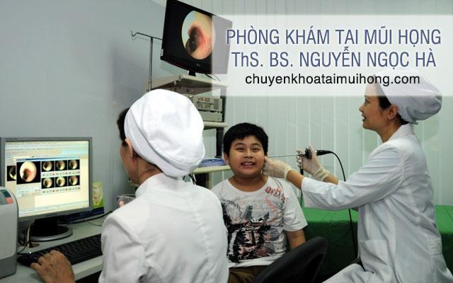 Phòng khám Tai mũi họng - ThS. BS. Nguyễn Ngọc Hà