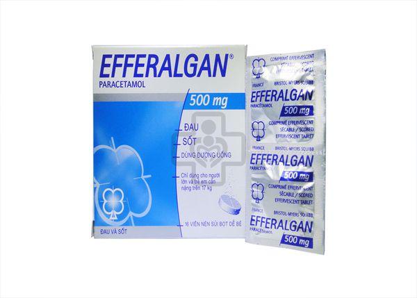 Đau họng có nên uống efferalgan không ?