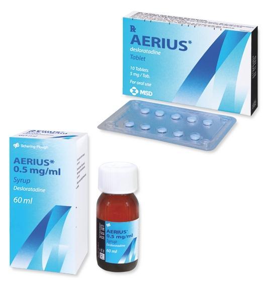 aerius - thuốc viêm mũi dị ứng có dùng lâu dài được không