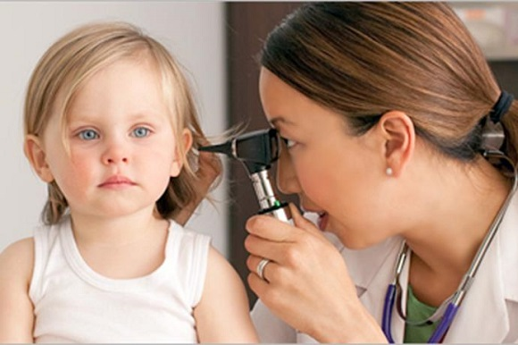 Bệnh viêm tai giữa ở trẻ nhỏ