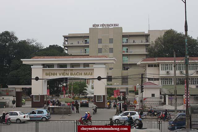 Bệnh viện Bạch Mai chữa bệnh viêm họng