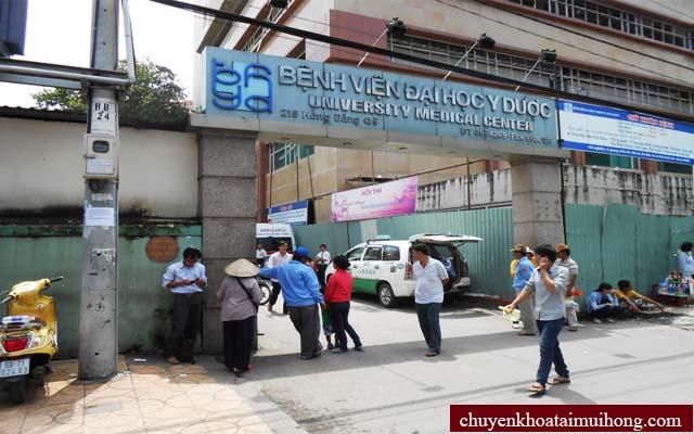 Bệnh viện Đại học Y Dược TP.HCM chữa viêm họng
