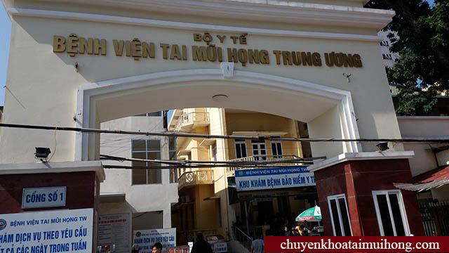 Bệnh viện Tai Mũi Họng Trung Ương khám viêm họng