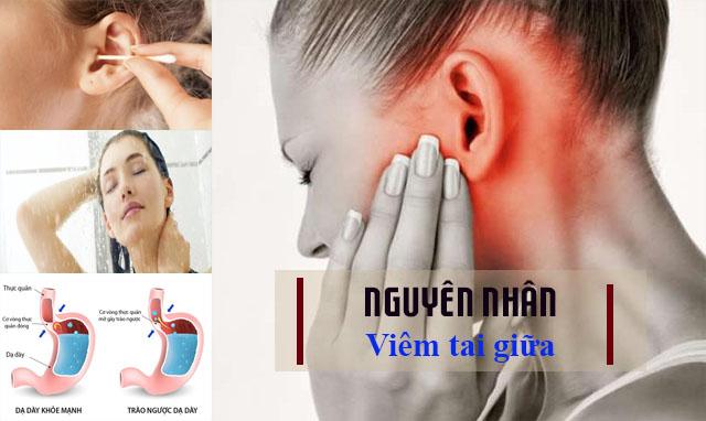 Một số nguyên nhân gây bệnh viêm tai giữa