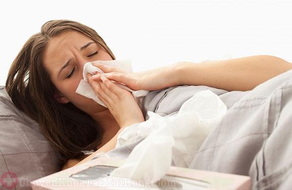 bà bầu bị viêm mũi dị ứng