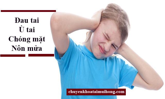 Các triệu chứng bệnh viêm tai giữa