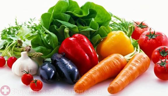 có chế độ dinh dưỡng hợp lý khi điều trị viêm đa xoang