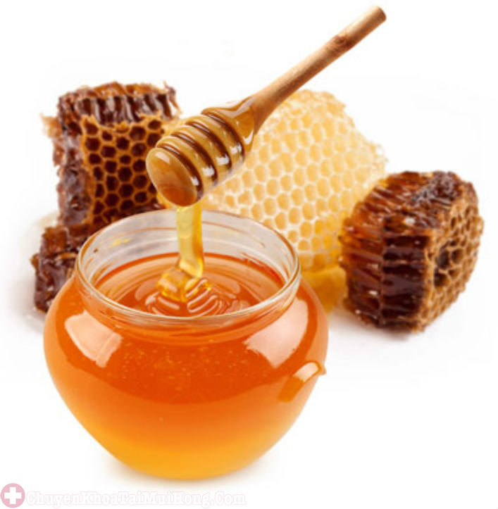 mật ong trị bệnh viêm họng giả mạc