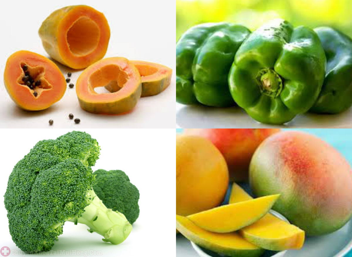 sử dụng thực phẩm nhiều vitamin C khi bị viêm họng giả mạc