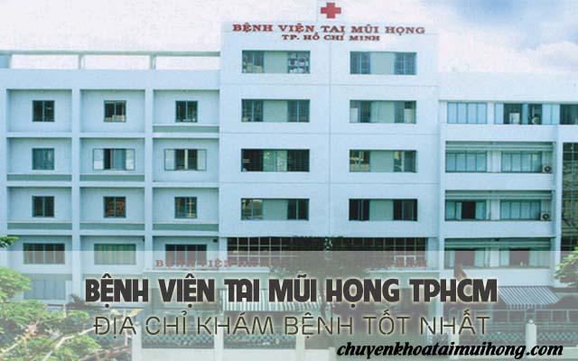 Khám viêm mũi dị ứng tại bệnh viện tai mũi họng TP.Hồ Chí Minh
