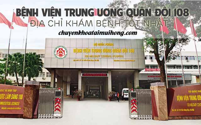Khám viêm mũi dị ứng tại bệnh viên trung ương quân đội 108