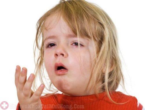 Cảm cúm gây ho ở trẻ em