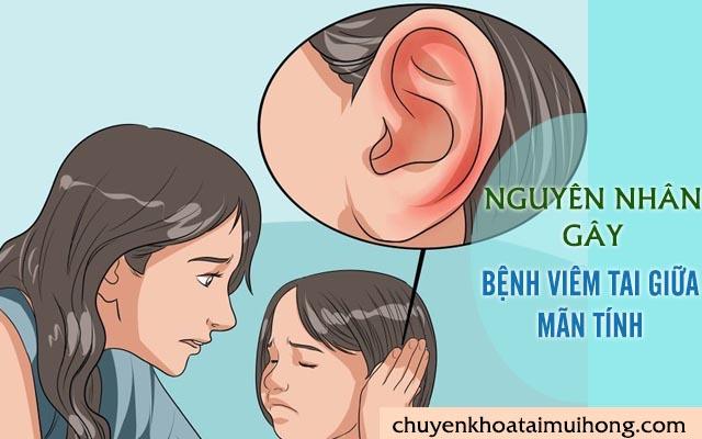 Vì sao mắc bệnh viêm tai giữa mãn tính?