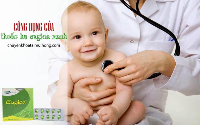 Công dụng chữa ho của thuốc Eugica xanh