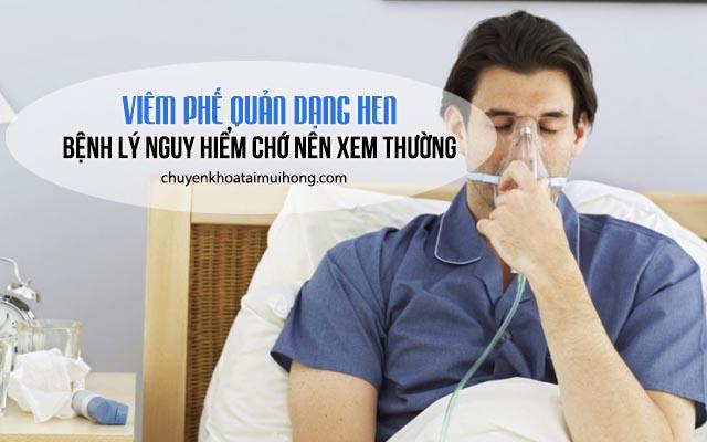 Bệnh viêm phế quản dạng hen