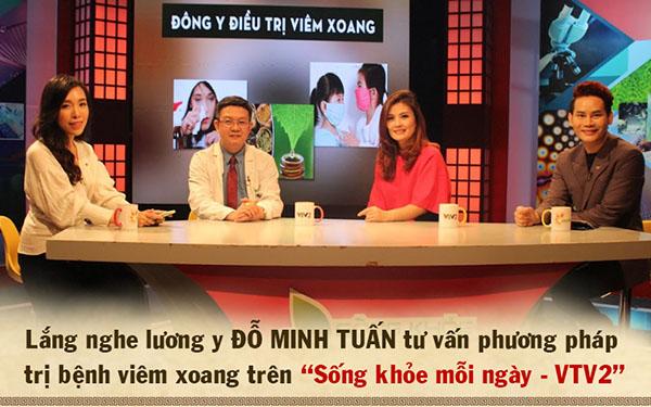 Diễn viên Hoa Thúy chia sẻ hành trình chữa bệnh viêm xoang tại Đỗ Minh Đường trên VTV2