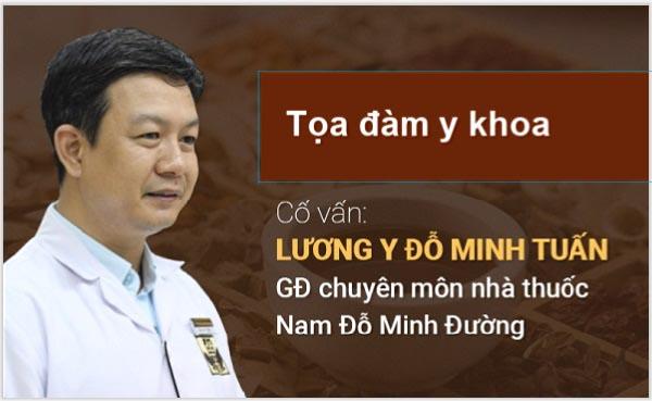Tọa đàm y khoa về viêm xoang cùng lương y Đỗ Minh Tuấn