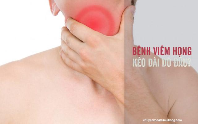 Nguyên nhân viêm họng kéo dài