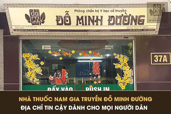 Nhà thuốc Nam gia truyền Đỗ Minh Đường với truyền thống hành nghề y gần 150 năm