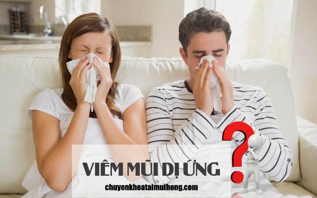 Sự khác nhau giữa viêm mũi dị ứng và viêm xoang