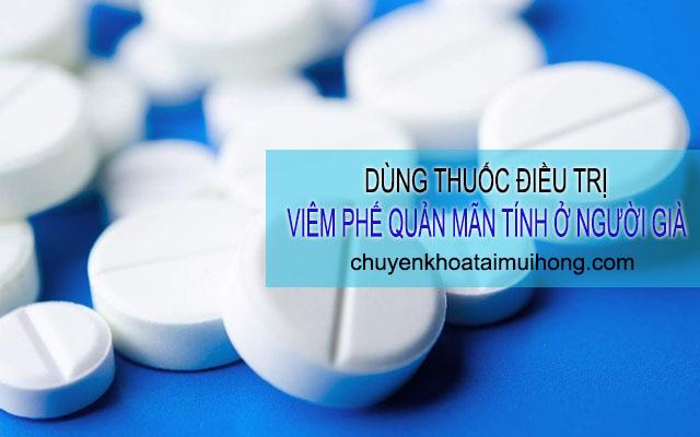 Chữa viêm phế quản mãn tính ở người già bằng thuốc