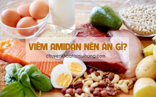 Món ăn tốt cho người bệnh viêm amidan