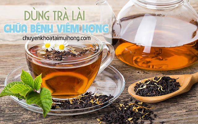 Dùng trà lài mỗi buổi sáng chữa bệnh viêm họng